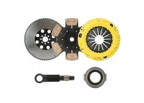 CLUTCHXPERTS STAGE 4 SPRUNG CLUTCH+FLYWHEEL 5/92-99 ECLIPSE GSX 2.0L TURBO 7BLT