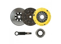 CLUTCHXPERTS STAGE 2 CLUTCH+FLYWHEEL 5/92-99 ECLIPSE GSX 2.0L TURBO AWD 7 BOLTS