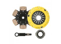 "CLUTCHXPERTS STAGE 3 CLUTCH KIT MUSTANG 10.5"" DISC TREMEC 26 SPLINE TRANS SWAP"