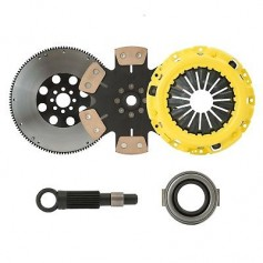 CLUTCHXPERTS STAGE 4 CLUTCH+FLYWHEEL KIT fits 1990-1991 ACURA INTEGRA Y1 S1 B18